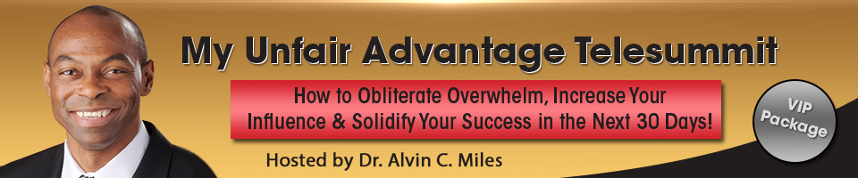My Unfair Advantage Summit